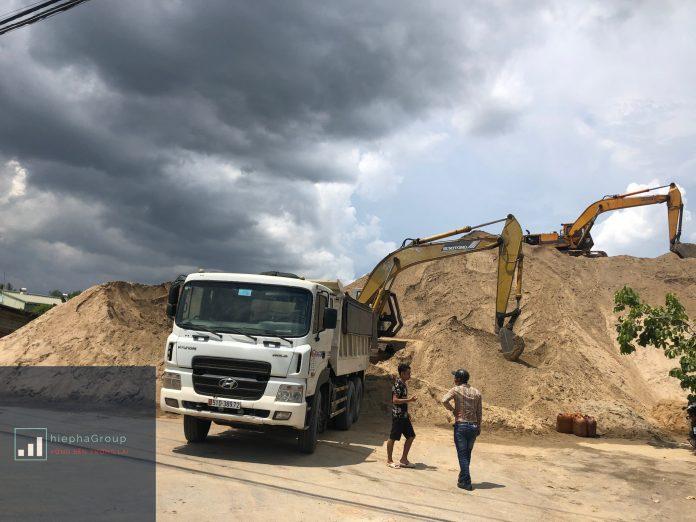 bãi cát đá xây dựng hiệp hà